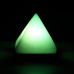 Pyramid Lamp -5x5x6 - Red, Blue, Green, Yellow